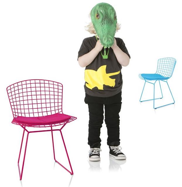 children's bertoia chairs