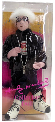 Toy Tokyo Plush Designer Andy Warhol Collector Doll
