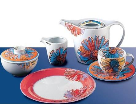 Rosenthal Warhol inspired collection