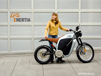 Having Blogged About The Mission One Electric Motorcycle It S Only Fair To Share With You Another Expensive Eco Friendly Bike Brammo Enertia