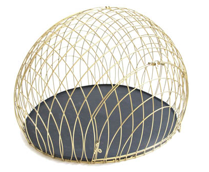 Gold Plated Dog Crate