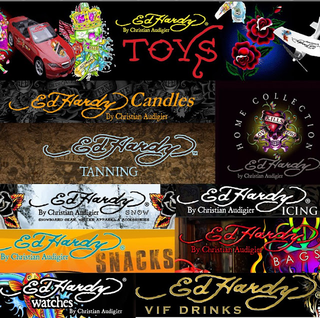 all the ed hardy products