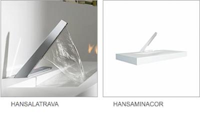 hanslatrava faucet and hansaminacor faucet
