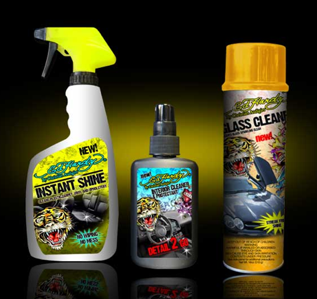 Ed Hardy Cleaning Products