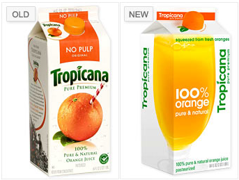 tropicana package redesign