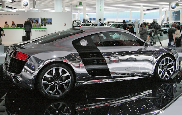 Cars You Can See Yourself In No Really 25 Mirrored Chrome Finished Cars If It S Hip It S Here