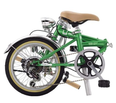 pantone folding bike