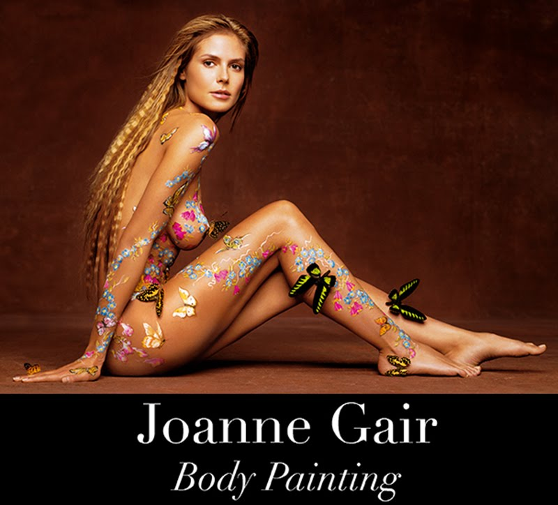 Body paint models sexy