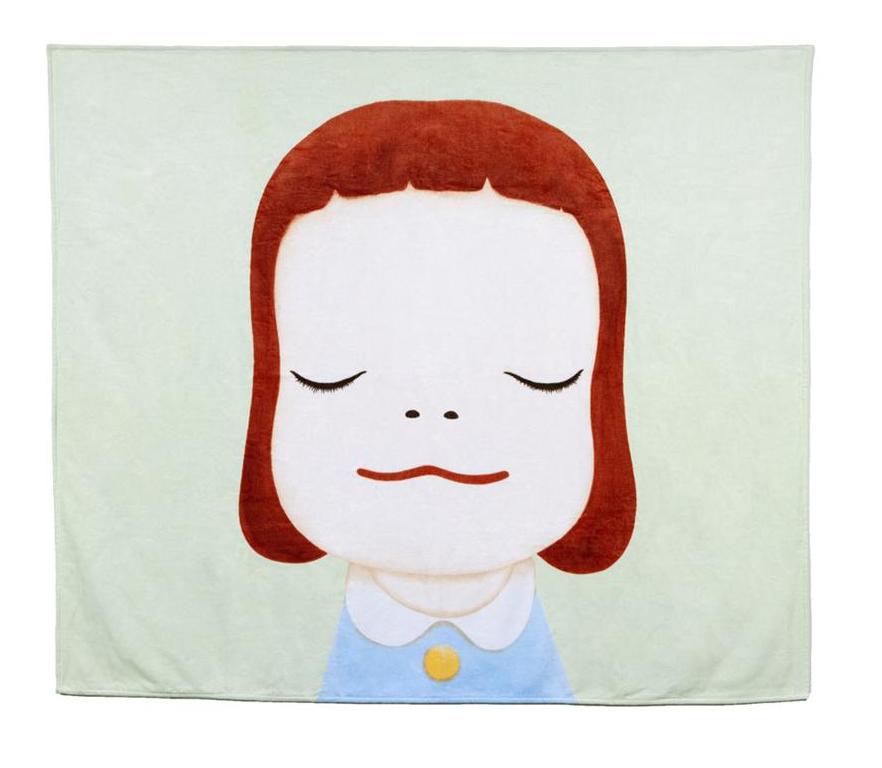 Yoshitomo Nara Beach Towel