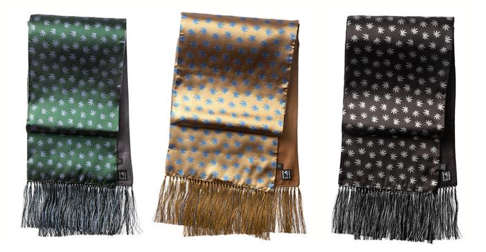 peckham rye silk scarves