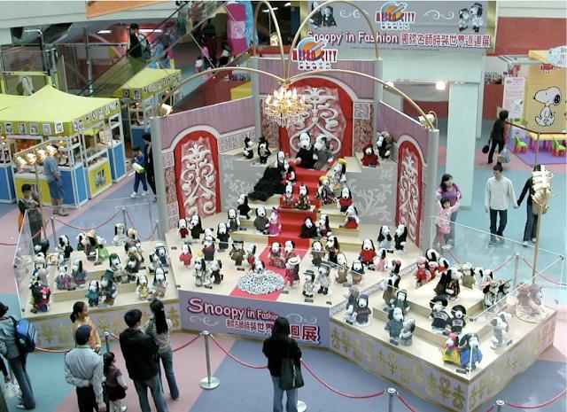 snoopy fashion exhibit tokyo