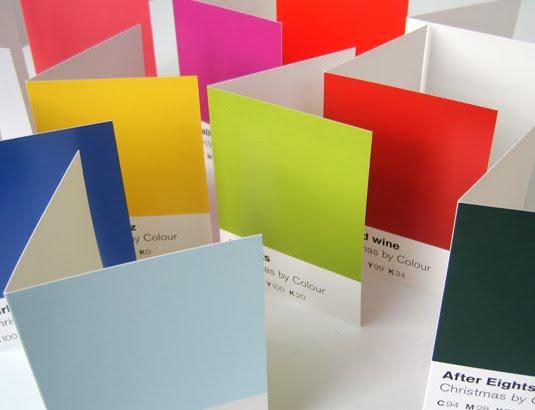 christmas by colour raw design studio