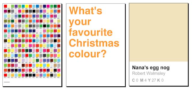 christmas pantone posters