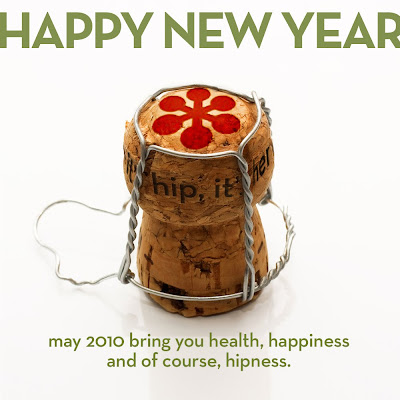 Happy New Year from if it's hip, it's here