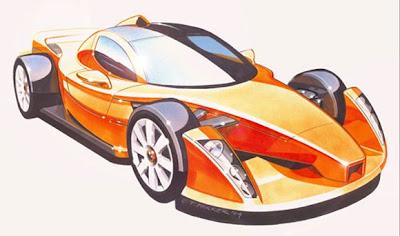 Hulme Supercar sketch