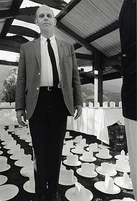 Claus Oldenberg, 1965, photo by Dennis Hopper