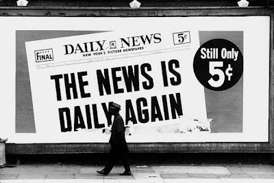 Dennis Hopper, Daily News, 1961