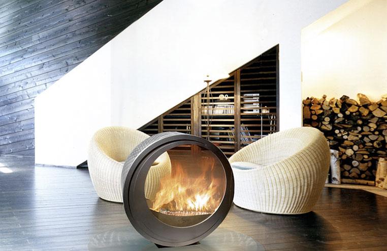 The Eclypsya fireplace