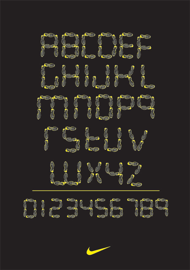 Nike Font by Adrian Newell