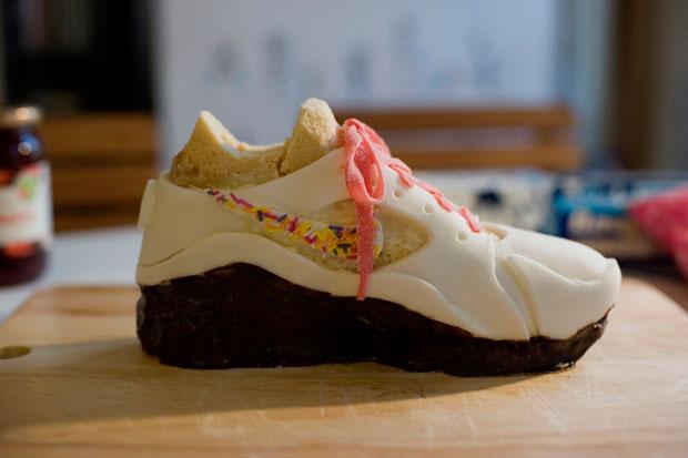 Erica Dorn Nike Marathon Shoe Cake
