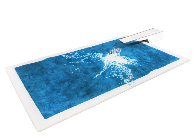 The Grand Splatch Rug complete with diving board by Pupsam on if it's hip, it's here