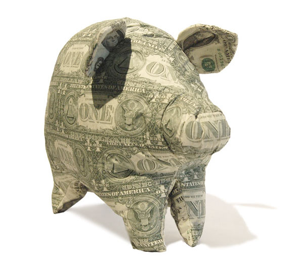 dollar piggy