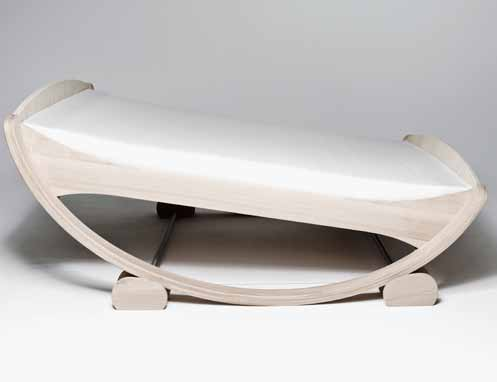 And here's an outdoor version of the Rocking bed that has yet to go into  production: