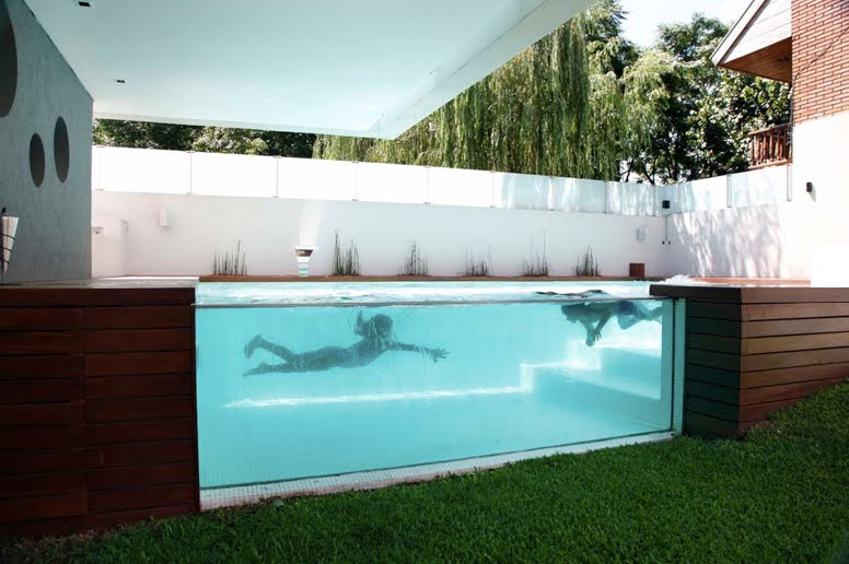 Above Ground Pool Decorating Ideas