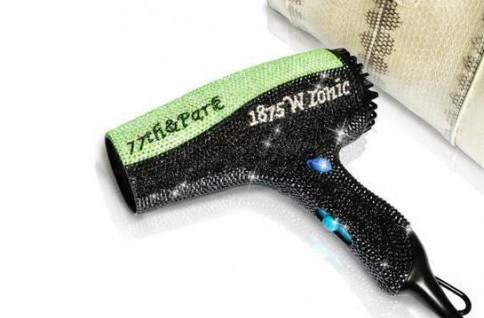 Swarovski Crystal hair dryer