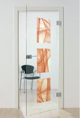 Digitally printed Glass door by Sprinz
