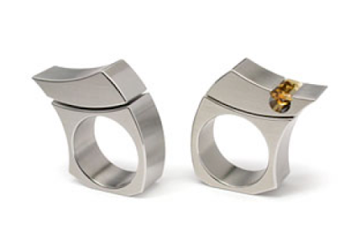 Stainless Steel with and without Citrine