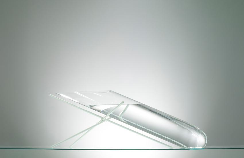 glass art aquarium
