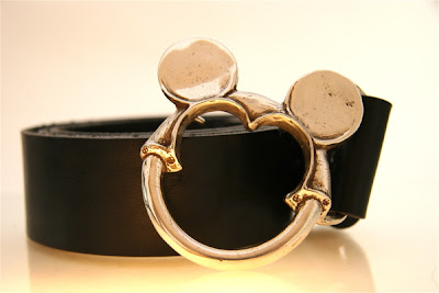 disney dream belt buckle