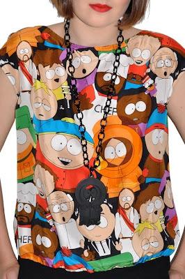 South Park Style In Jean-Charles de Castelbajac's New JC/DC