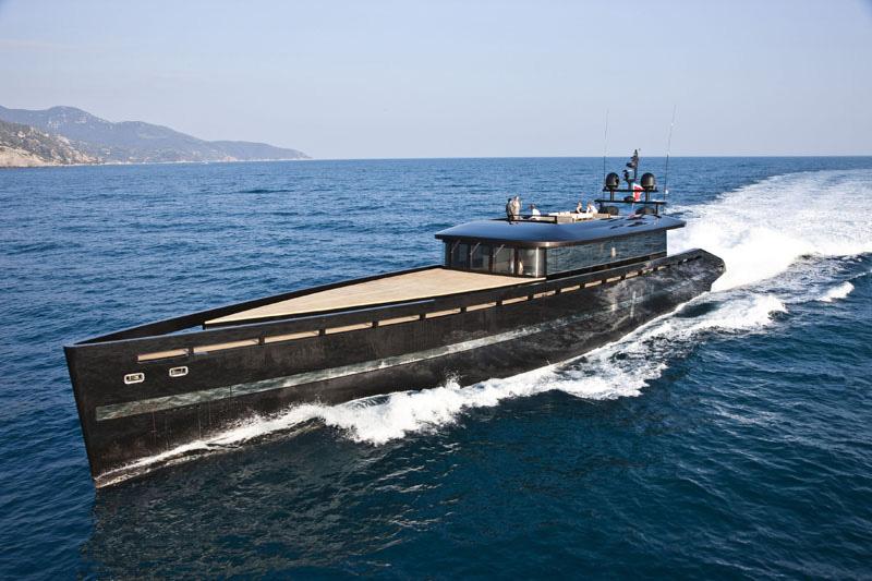 Soul Sanctuary H2ome Yacht Has A Sleek Profile Modern
