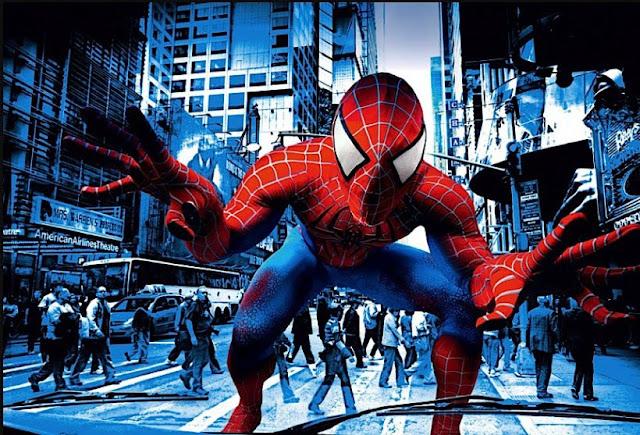 Annie Leibovitz Spiderman Fashion Editorial