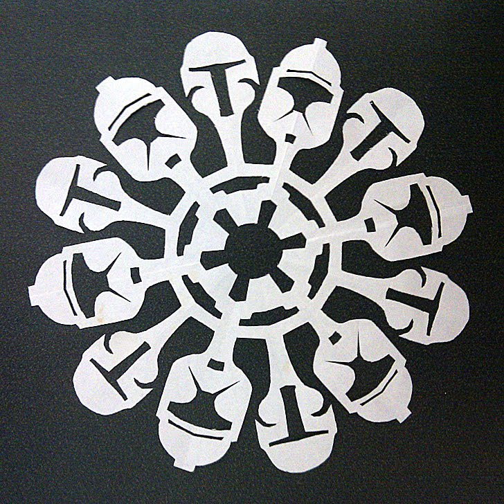 Star Wars Snowflakes And Templates To Make Your Own If It S Hip