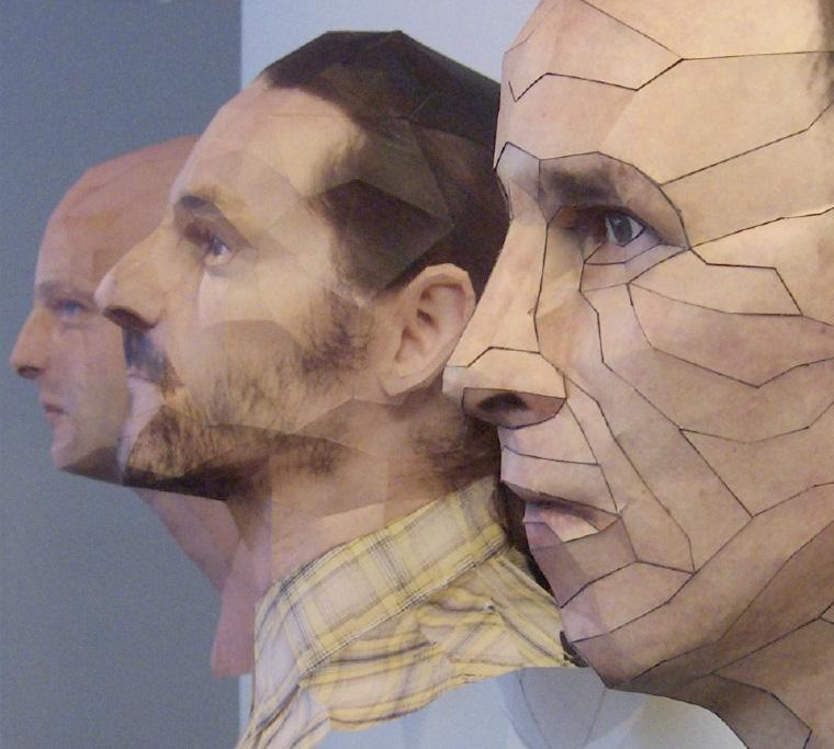 Bert Simons Paper Heads
