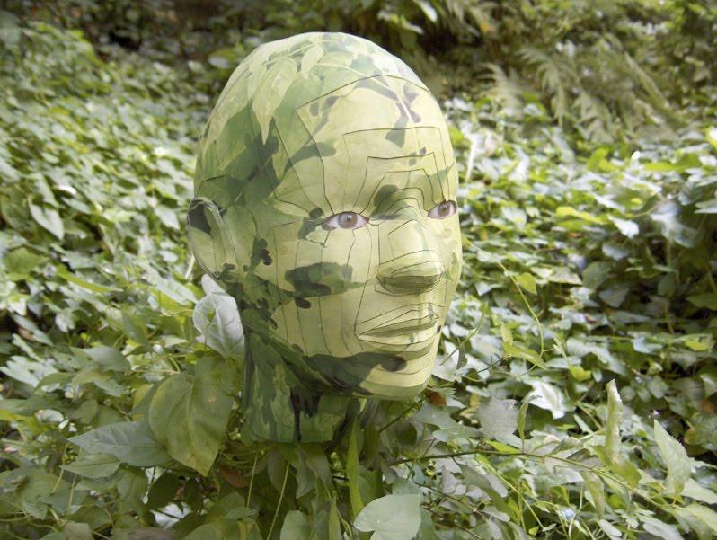 paper head by Bert Simons