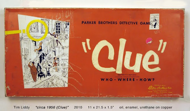 painting of Clue board game