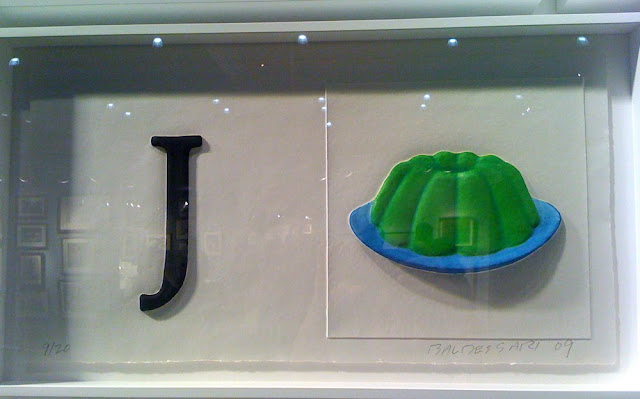 John Baldessari J for jello