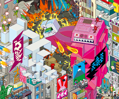 If It's Hip, It's Here (Archives): eBoy's Pixelated Art ...