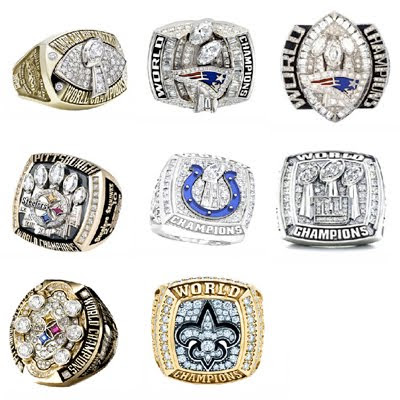 rings from 2002-2009