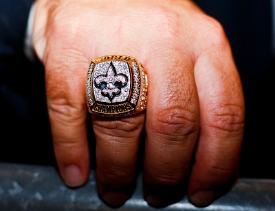 The Past 44 Super Bowl Rings