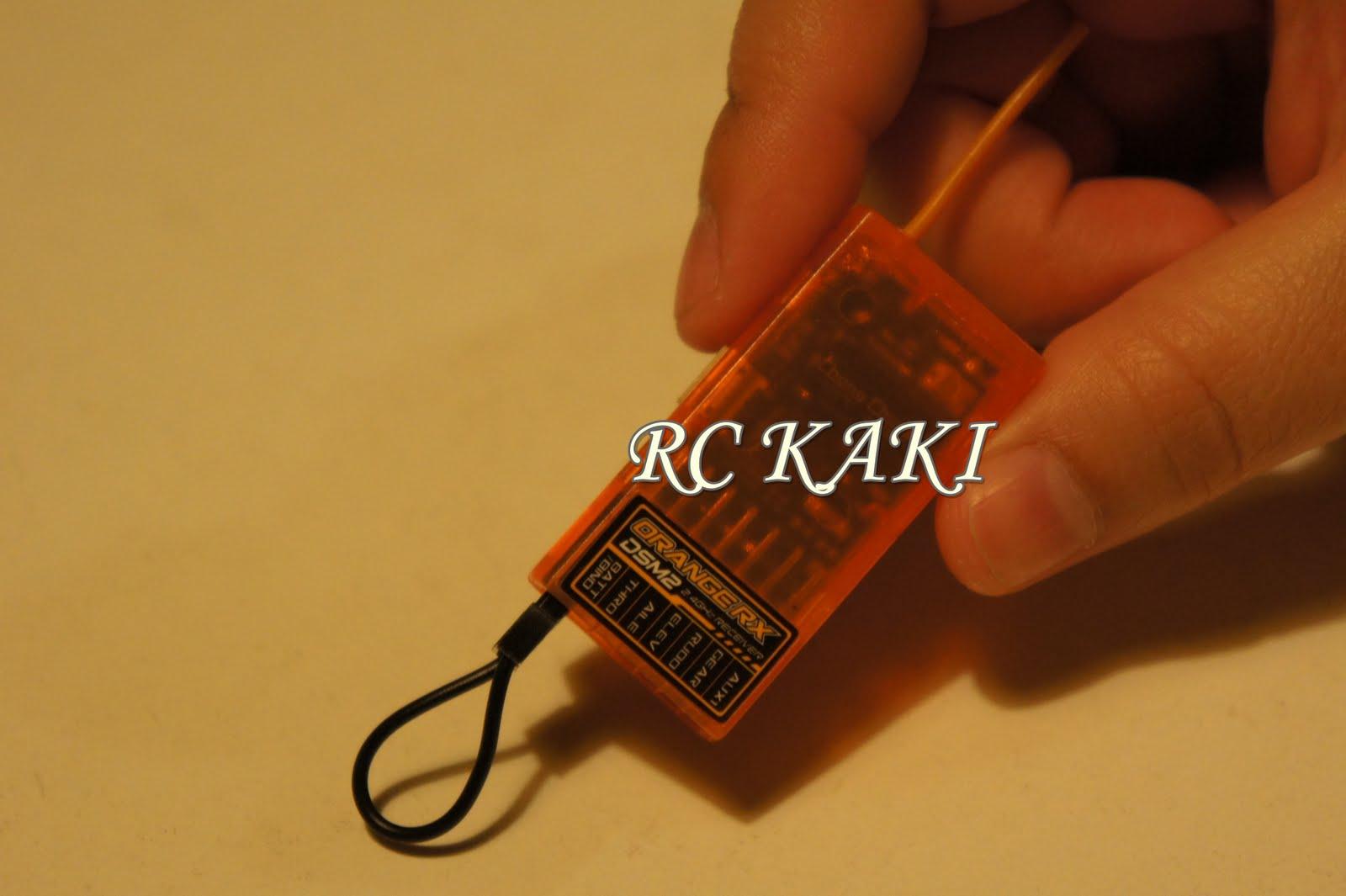 RC kaki: JR / Spectrum Compatible Receiver (Orange RX)