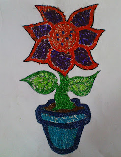 Draw with Origami Paper | Rosidah Abidin | Crafts