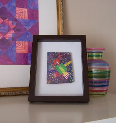 Carmen Rose Prose Framed Mini Quilts
