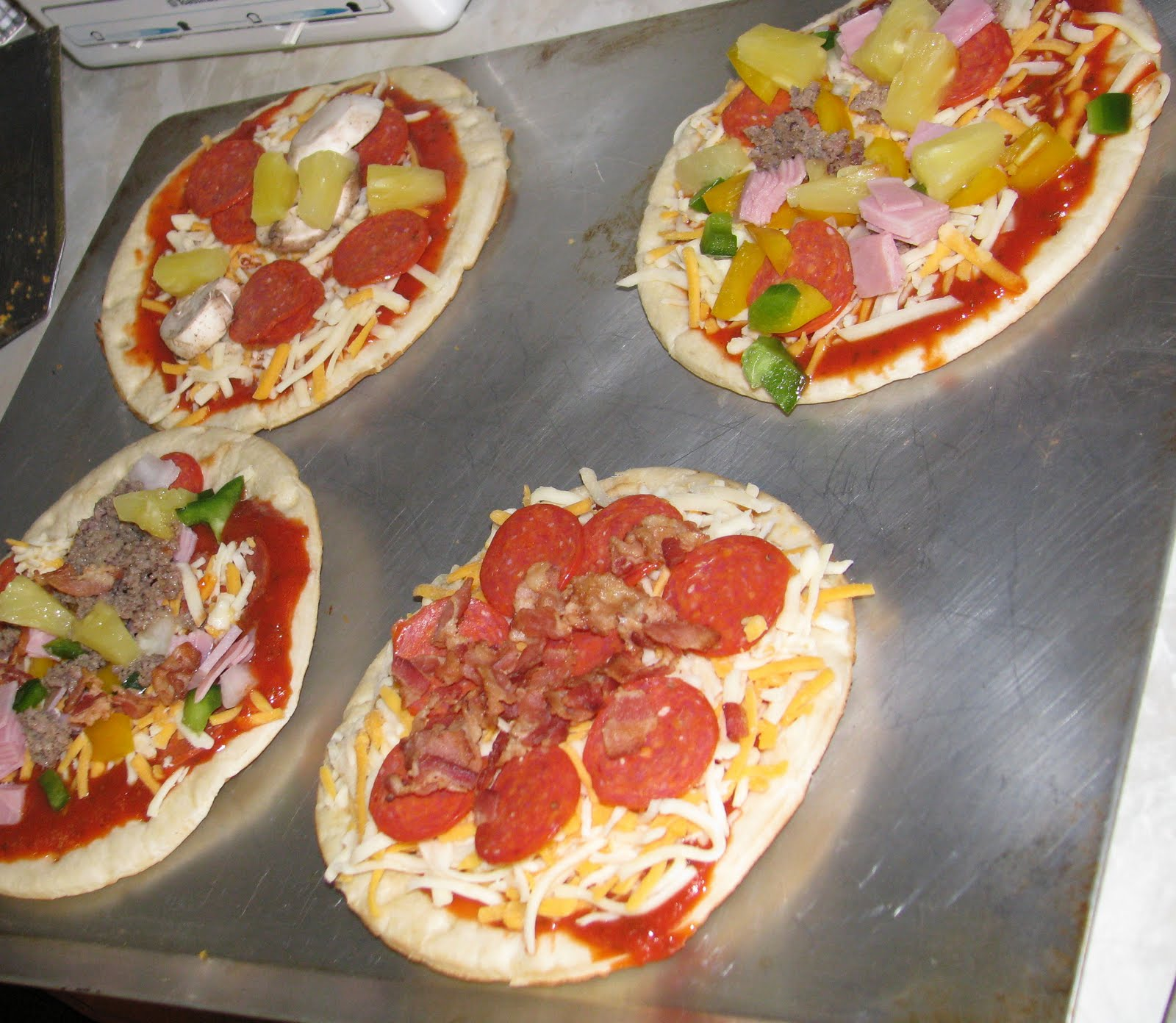 Make Your Own Pizza Party