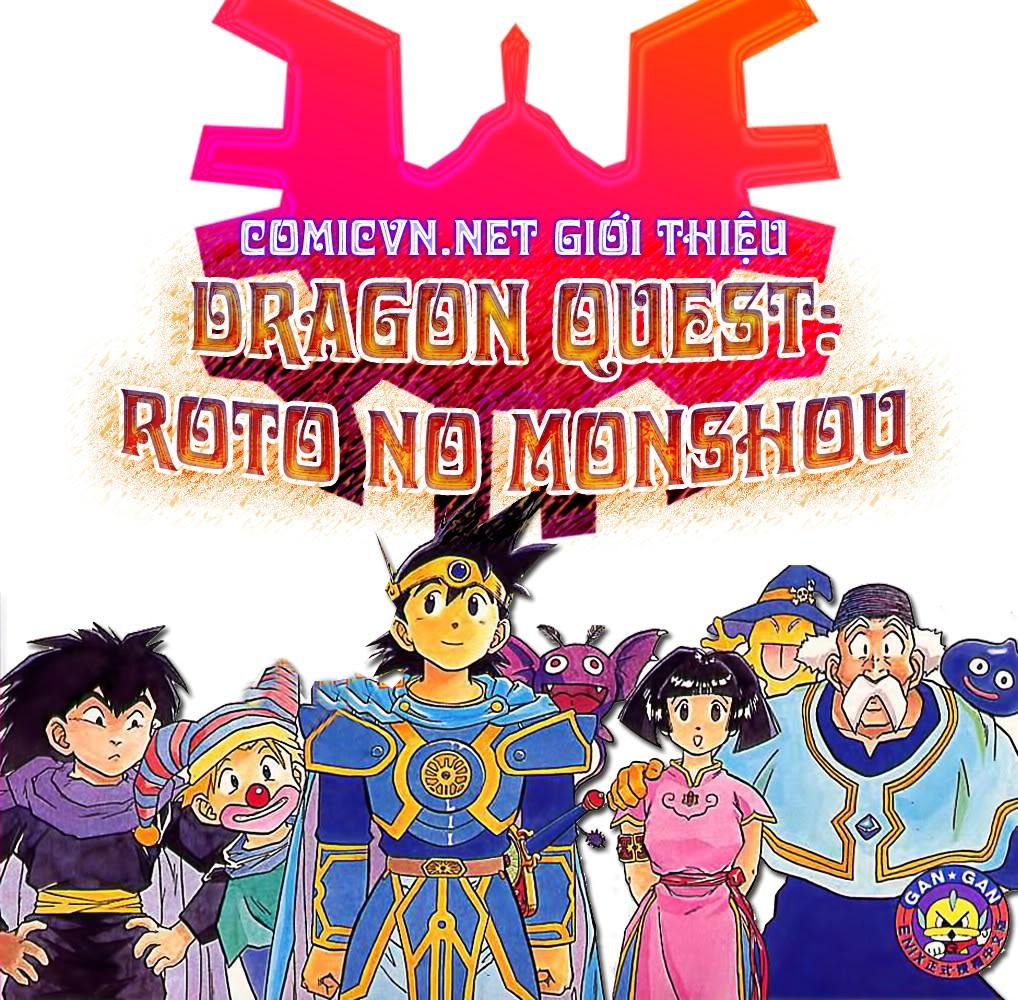 Dragon Quest: Emblem of Roto chapter 22 trang 1