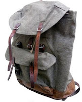 Photo of backpack or rucksack.